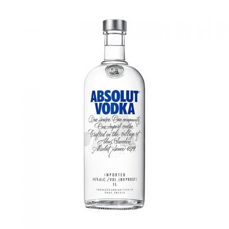 ABSOLUT BLUE 1L 100cl / 40% VODKA imagine