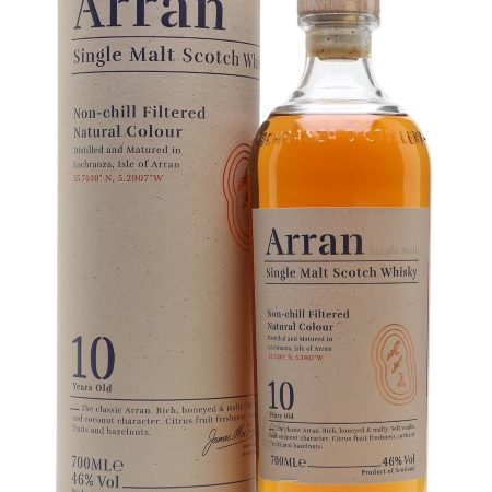 ARRAN 10 ANI SINGLE MALT 0.7L 70cl / 46% WHISKY imagine