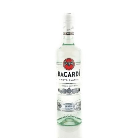 BACARDI CARTA BLANCA WHITE 0.7L 70cl / 37.5% Rom imagine