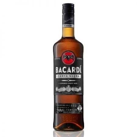 BACARDI CARTA NEGRA BLACK 0.7L 70cl / 40% Rom imagine