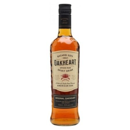 BACARDI OAKHEART 0.70L 70cl / 35% Rom imagine