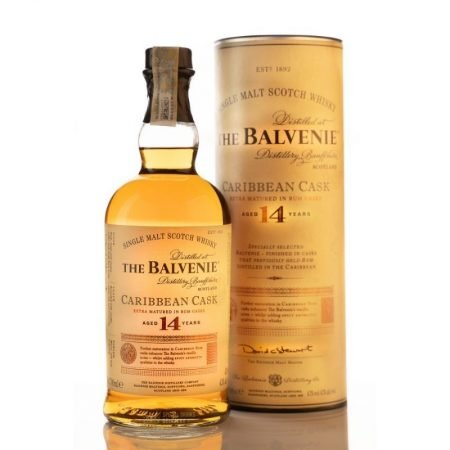 BALVENIE CARIBBEAN CASK 14 ANI SINGLE MALT 0.7L 70cl / 43% WHISKY imagine