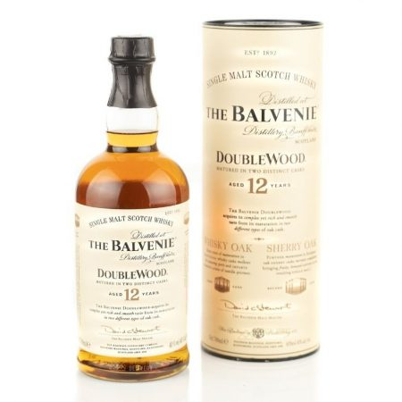 BALVENIE DOUBLEWOOD 12 ANI SINGLE MALT 0.7L 70cl / 40% WHISKY imagine
