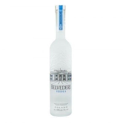 BELVEDERE 0.7L 70cl / 40% VODKA imagine