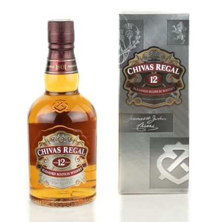 CHIVAS REGAL 12 ANI BLENDED 0.5L 50cl / 40% WHISKY imagine