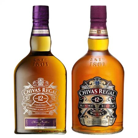 CHIVAS REGAL 12YO AND CHIVAS BROTHERS BLEND 2000 ML imagine