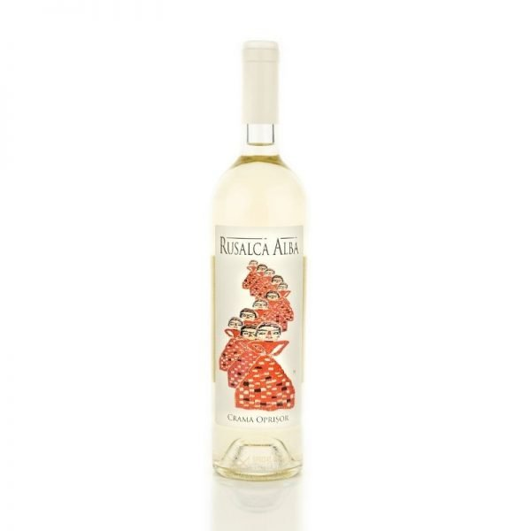 CRAMA OPRISOR RUSALCA ALBA - 0.75 L/75cl 14%Vin Romania imagine