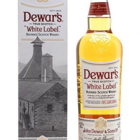 DEWAR'S WHITE LABEL BLENDED 0.7L 70cl / 40% WHISKY imagine