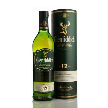 GLENFIDDICH 12 ANI SINGLE MALT 0.7L 70cl / 40% WHISKY imagine
