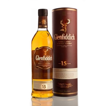 GLENFIDDICH 15 ANI SOLERA SINGLE MALT 0.7L 70cl / 40% WHISKY imagine