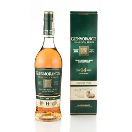 GLENMORANGIE 14 ANI QUINTA RUBAN SINGLE MALT 0.7L 70cl / 46% WHISKY imagine