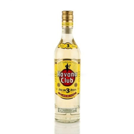 HAVANA CLUB ANEJO BLANCO 3 ANI 0.7L 70cl / 40% Rom imagine