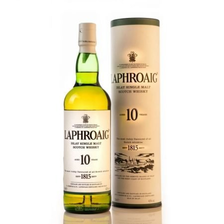 LAPHROAIG 10 ANI SINGLE MALT 0.7L 70cl / 40% WHISKY imagine