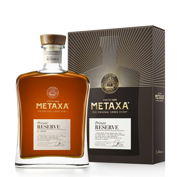 METAXA PRIVATE RESERVE 0.7L 70cl / 40% BRANDY imagine