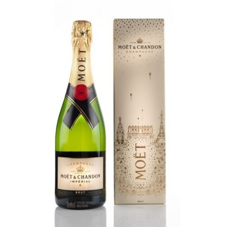 MOET & CHANDON BRUT CUTIE CADOU 0.75L 75cl / 12% SAMPANIE imagine