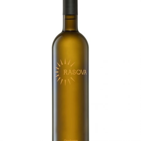 RASOVA PREMIUM CHARDONNAY 0.75L 75cl / 13.5% VIN ROMANIA imagine