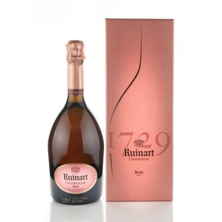 RUINART ROSE CUTIE CADOU 0.75L 75cl / 12.5% SAMPANIE imagine