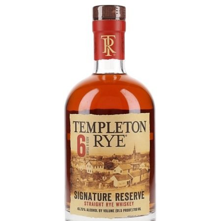 TEMPLETON RYE 6 ANI STRAIGHT RYE 0.7L 70cl / 45.75% WHISKY imagine