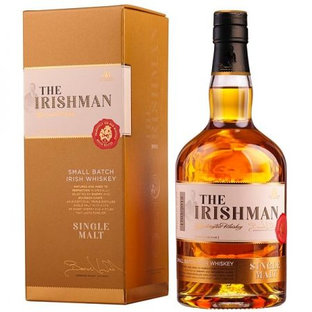 THE IRISHMAN SINGLE MALT 0.7L 70cl / 40% WHISKY imagine