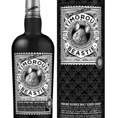 TIMOROUS BEASTIE BLENDED 0.7L 70cl / 46.8% WHISKY imagine