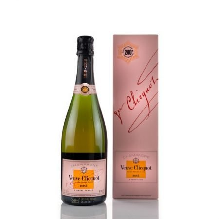 VEUVE CLICQUOT ROSE CUTIE CADOU 0.75L 75cl / 12.5% SAMPANIE imagine