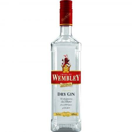 WEMBLEY 0.7L 70cl / 40% DRY GIN imagine